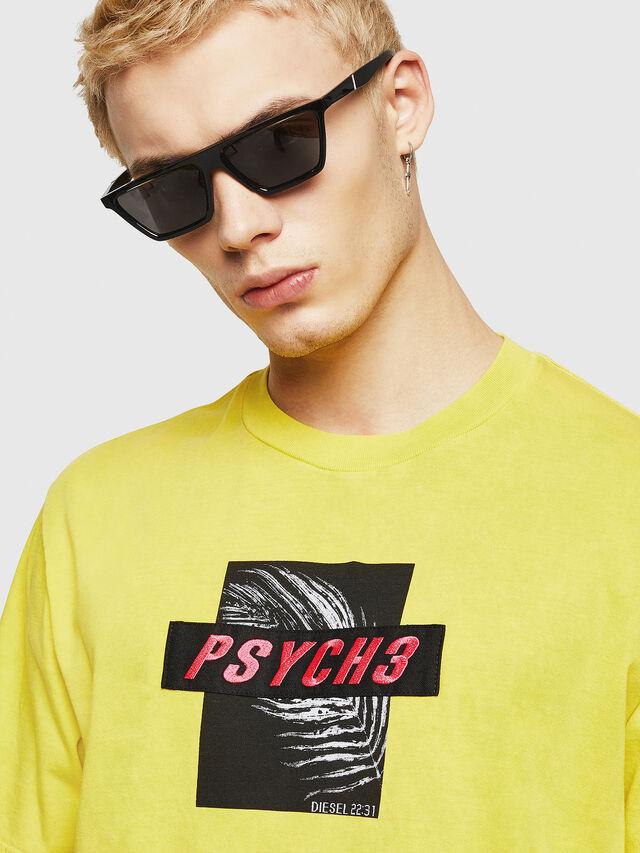 Diesel - T-JUST-Y18, Gelb - T-Shirts - Image 2