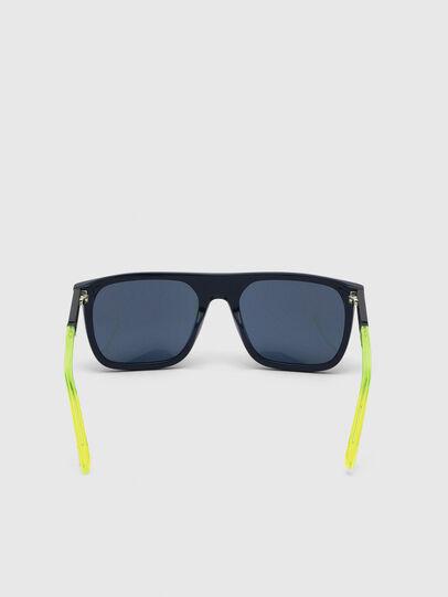Diesel - DL0299, Blau/Gelb - Sonnenbrille - Image 4