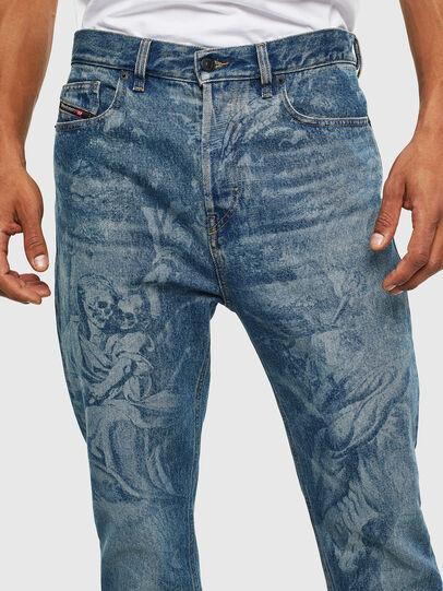 Diesel - D-Vider 0079D, Mittelblau - Jeans - Image 3