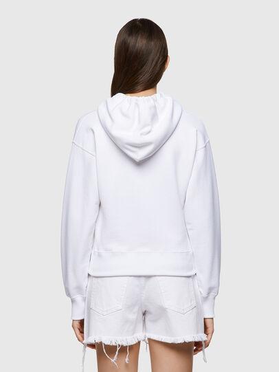 Diesel - F-LYM-HOOD-C.C, Weiß - Sweatshirts - Image 2