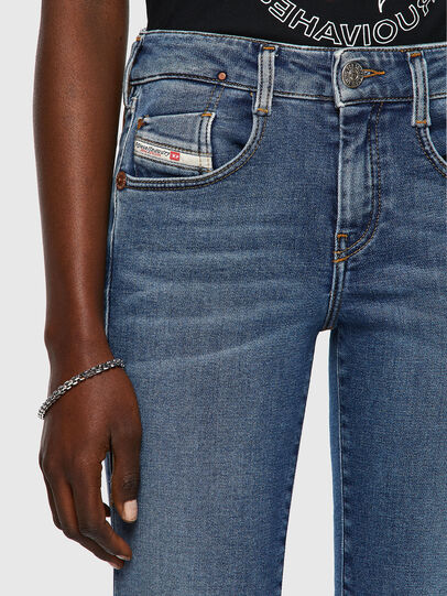 Diesel - D-Ollies JoggJeans® 069XA, Mittelblau - Jeans - Image 3