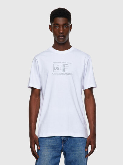 Diesel - T-JUST-A35, Weiß - T-Shirts - Image 1