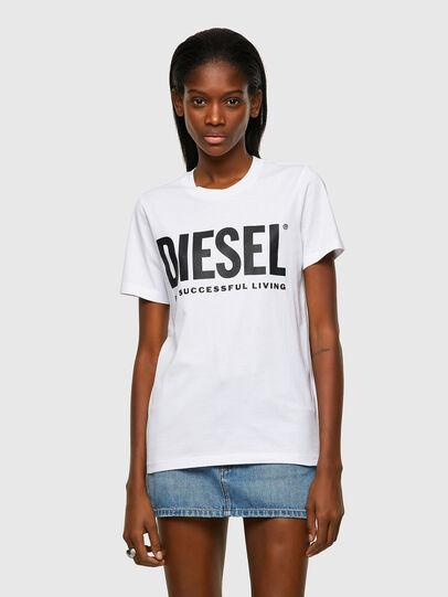 Diesel - T-SILY-ECOLOGO, Weiß - T-Shirts - Image 1