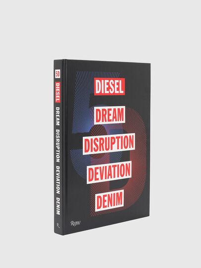 Diesel - 5D Diesel Dream Disruption Deviation Denim, Schwarz - Bücher - Image 1
