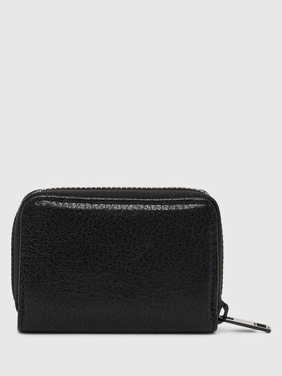 Diesel - JAPAROUND, Schwarz/Orange - Portemonnaies Zip-Around - Image 2