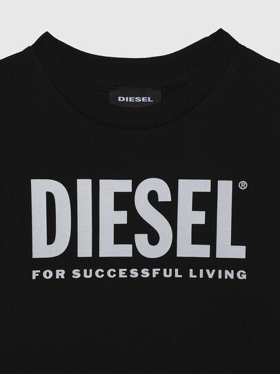 Diesel - TJUSTLOGOB-R, Schwarz - T-Shirts und Tops - Image 3