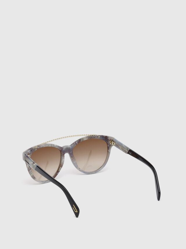 Diesel - DM0189, Grau - Sonnenbrille - Image 2