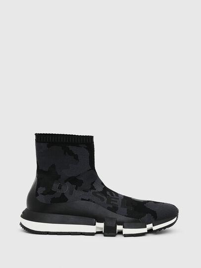 Diesel - H-PADOLA HIGH SOCK, Schwarz - Sneakers - Image 1