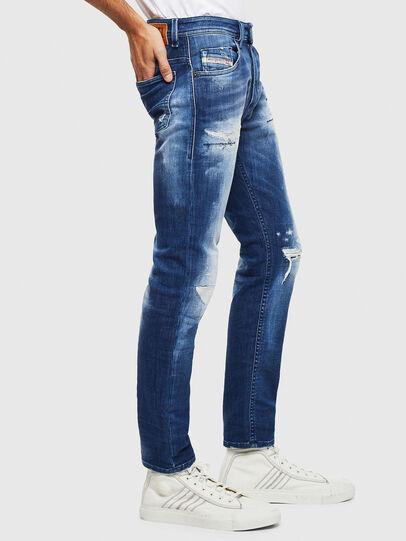 Diesel - Thommer JoggJeans 0099S, Dunkelblau - Jeans - Image 4