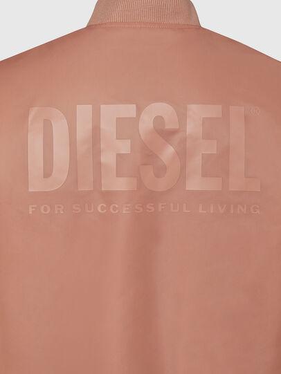 Diesel - J-ROSS-REV, Rosa - Jacken - Image 5