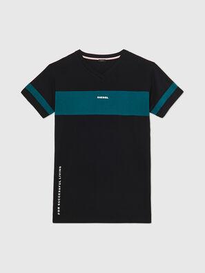 UFTEE-CHEERLY, Schwarz/Blau - T-Shirts