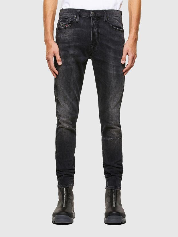 D-Istort 069RL, Schwarz/Dunkelgrau - Jeans