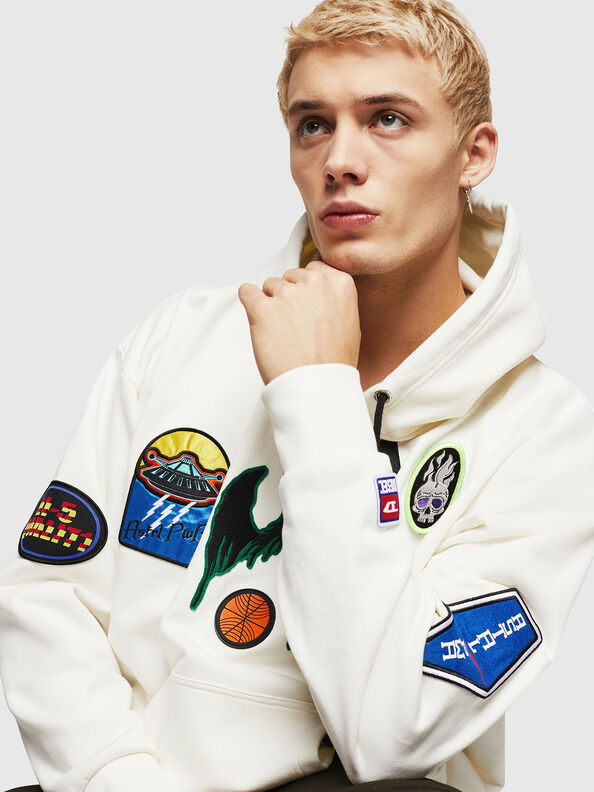 S-ALBY-PATCHES,  - Sweatshirts