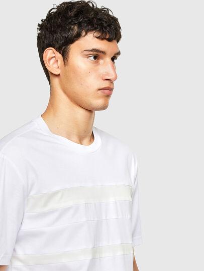 Diesel - T-LOUD, Weiß - T-Shirts - Image 4