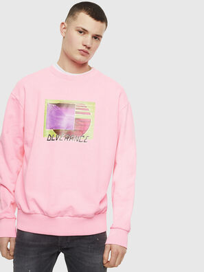 S-BIAY-FLUO, Rosa - Sweatshirts