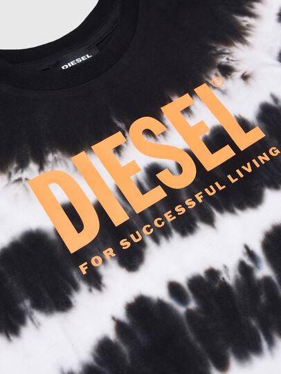 Diesel - TAREZB-R, Schwarz/Weiss - T-Shirts und Tops - Image 3