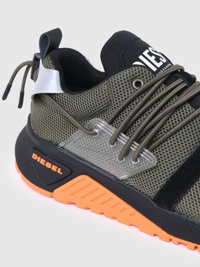 Diesel - S-KB UP LACE, Armeegrün - Sneakers - Image 4