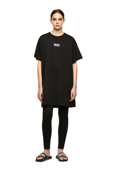 T-Shirt-Kleid mit kleinem Diesel-Logo