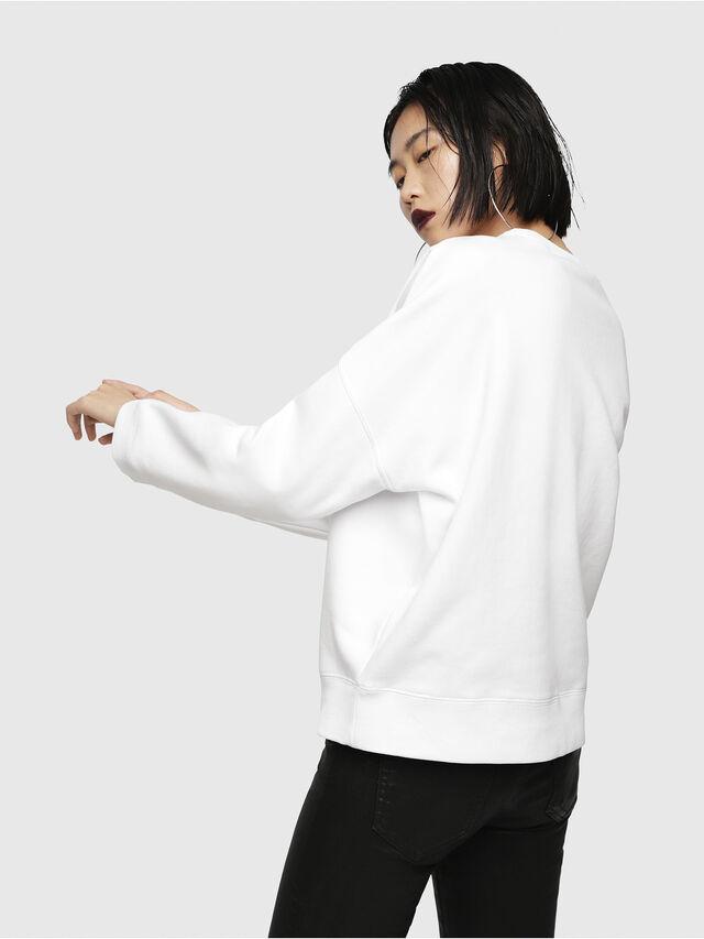 Diesel - F-GERTRUDE-NEW-A, Weiß - Sweatshirts - Image 2