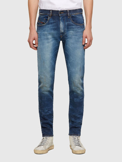 Diesel - D-Strukt 009NT, Mittelblau - Jeans - Image 1