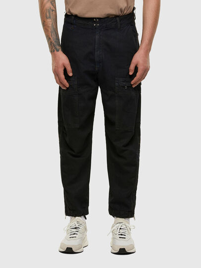 Diesel - D-Luks 009IB, Dunkelblau - Jeans - Image 1