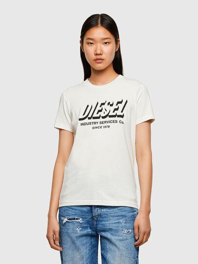Diesel - T-SILY-R4, Weiß - T-Shirts - Image 1