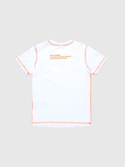 Diesel - TJUSEAM, Weiß - T-Shirts und Tops - Image 2