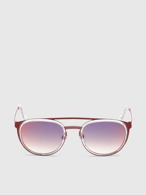 DL0293, Rot/Weiß - Sonnenbrille
