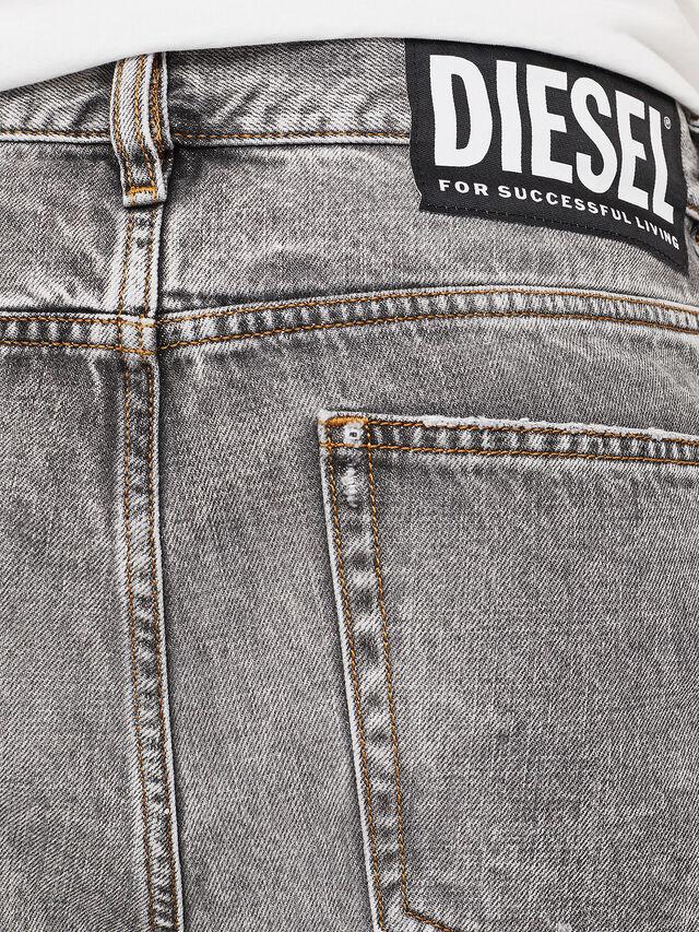Diesel - D-KORT, Hellgrau - Kurze Hosen - Image 5
