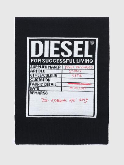 Diesel - K-GUBO D, Schwarz - Schals - Image 1