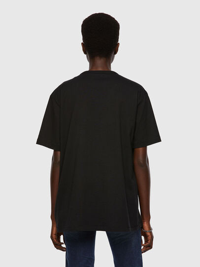 Diesel - T-BOYISH, Schwarz - T-Shirts - Image 2