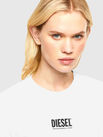 Diesel - T-SILY-SMALLOGO, Weiß - T-Shirts - Image 3