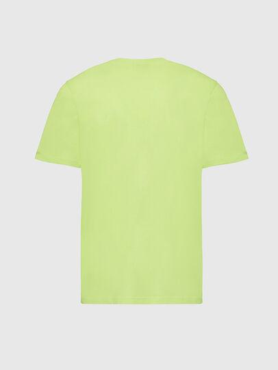 Diesel - T-MOONY-X2, Neongrün - T-Shirts - Image 2