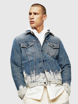 NHILL, Hellblau - Denim jacken