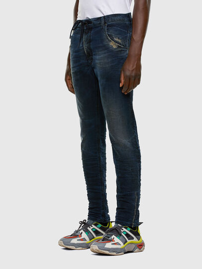 Diesel - Krooley JoggJeans 069NP, Dunkelblau - Jeans - Image 8