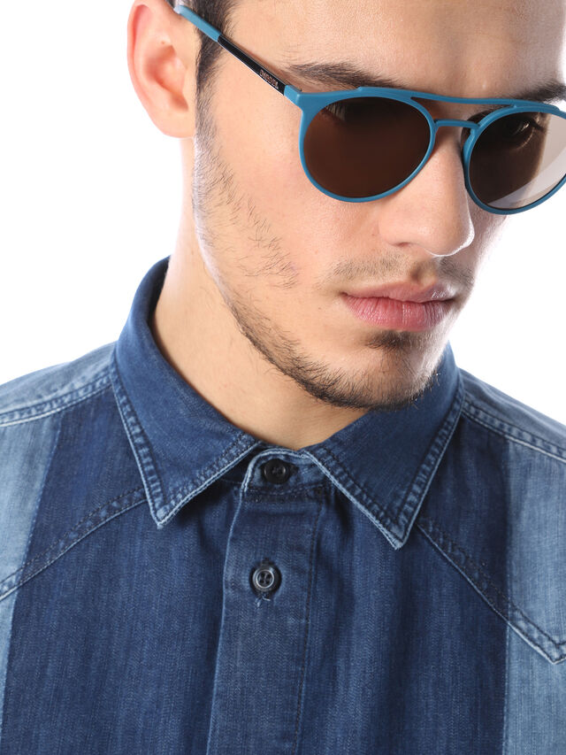 Diesel - DM0195, Blau - Sonnenbrille - Image 5