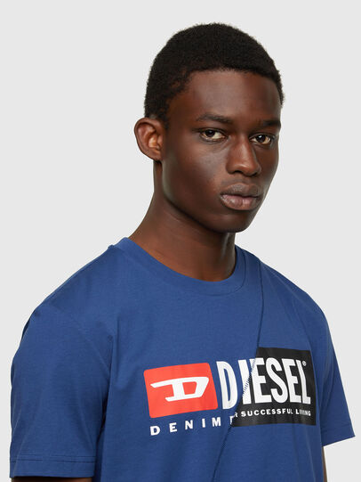 Diesel - T-DIEGO-CUTY, Blau - T-Shirts - Image 3