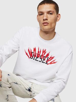S-GIR-A1, Weiß - Sweatshirts