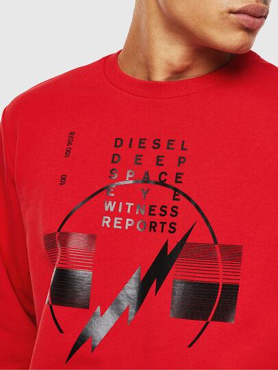 Diesel - S-GIRK-J2, Rot - Sweatshirts - Image 3