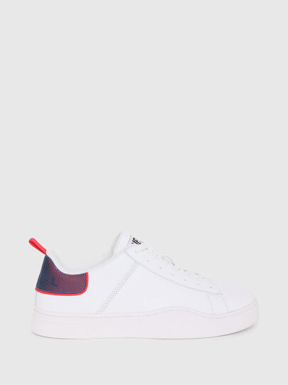 Diesel - S-CLEVER LOW LACE, Weiss/Rot - Sneakers - Image 1