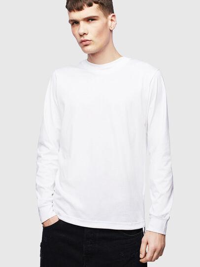 Diesel - T-HUSTY-LS, Weiß - T-Shirts - Image 1