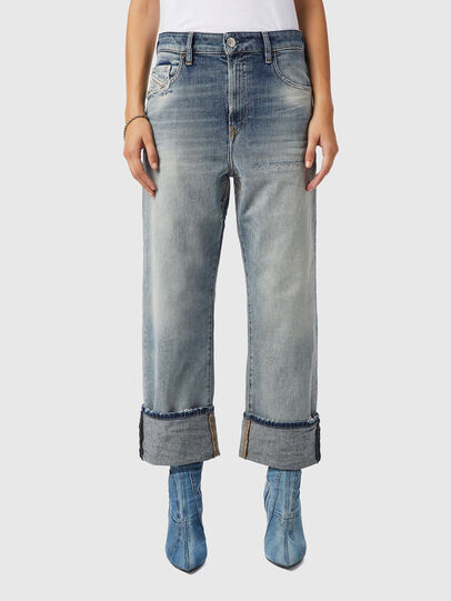 Diesel - D-Reggy 09B11, Hellblau - Jeans - Image 1