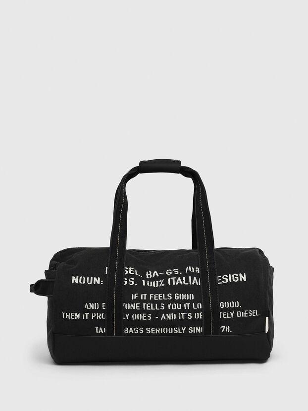 D-THISBAG TRAVEL BAG, Schwarz - Reisetaschen