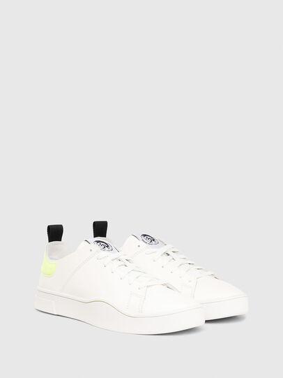 Diesel - S-CLEVER LS, Weiß/Gelb - Sneakers - Image 2