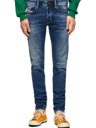 Diesel - Sleenker 009PN, Mittelblau - Jeans - Image 1