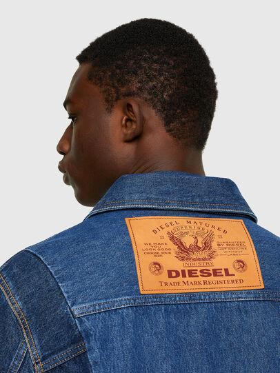 Diesel - D-COSNIL, Mittelblau - Denim jacken - Image 4