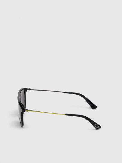 Diesel - DL0297, Schwarz/Gelb - Sonnenbrille - Image 3