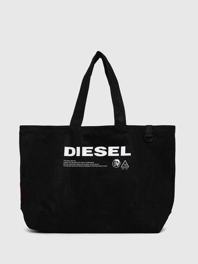 Diesel - D-THISBAG SHOPPER L, Schwarz - Shopper und Schultertaschen - Image 1