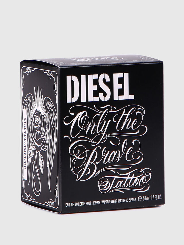 Diesel - ONLY THE BRAVE TATTOO 50 ML, Brillantschwarz - Only The Brave - Image 4
