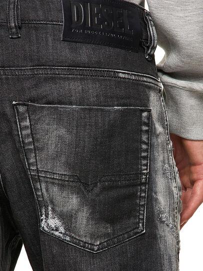 Diesel - Krooley JoggJeans® 09B53, Schwarz/Dunkelgrau - Jeans - Image 4